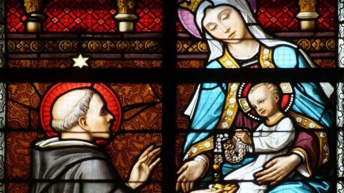 Bonté de Jésus - vitrail Rosaire