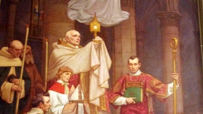 Eucharistie - Triomphe de la royauté d'amour du Christ