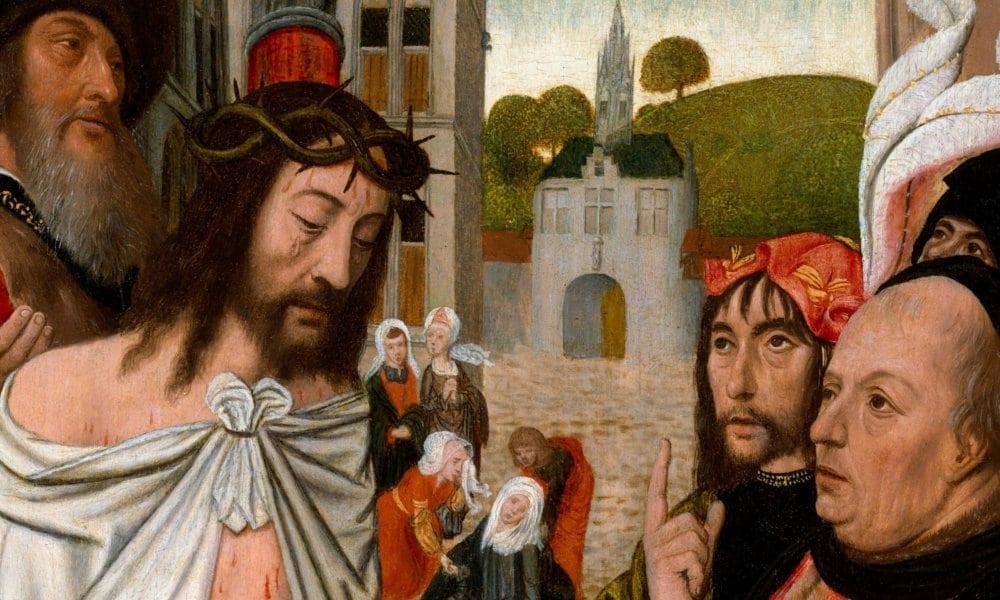 Ingratitude du monde - Christ montré au peuple, Jan Mostaert - Metropolitan Museum of Art