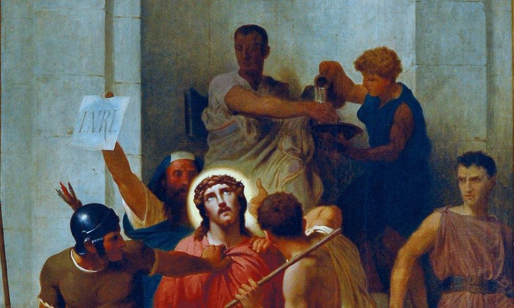 Jésus condamné à mort par Ponce Pilate